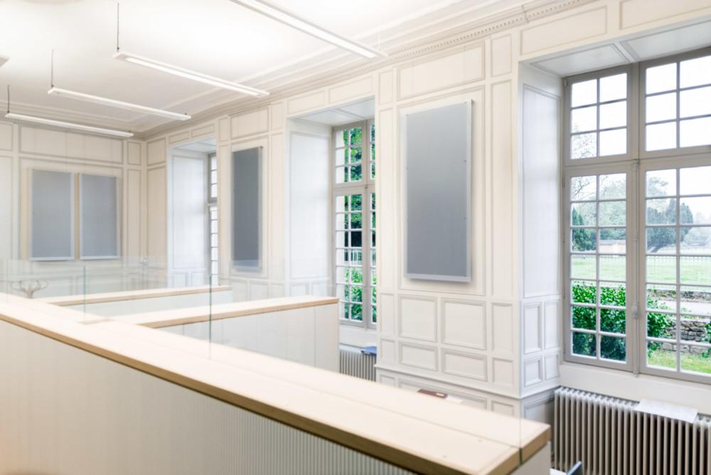 Photo d'architecture Catherine Proux Bretagne et intégration moderne classique design images penumatiques Paimpont